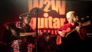 Abdoulaye & Banning duo at W2W Guitar Festival