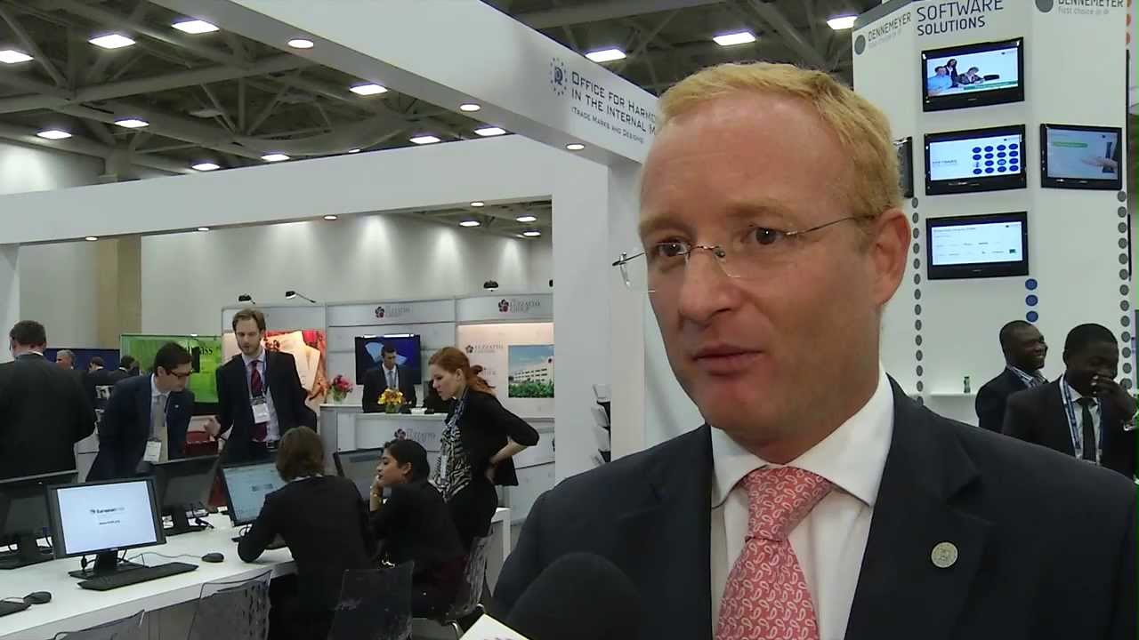 OHIM President Ant³nio Campinos Talks To INTA TV At The 2013 Annual