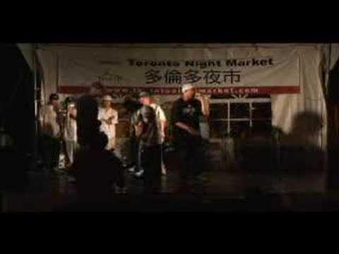 Chuckie Akenz at Toronto Night Market 2006 Part 1