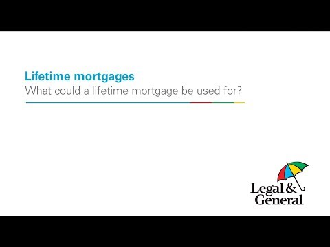 What could a lifetime mortgage be used: adviser version