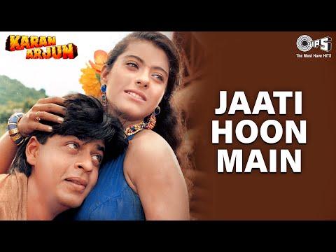 Jaati Hoon Main | Sharukh Khan | Kajol | Alka Yagnik, Kumar Sanu | 90's Popular Romantic Song indir