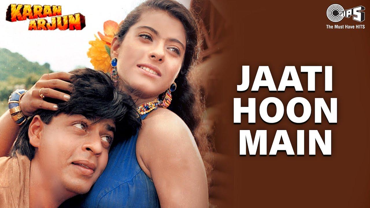 Jaati Hoon Main | Sharukh Khan | Kajol | Alka Yagnik, Kumar Sanu | 90's Popular Romantic Song