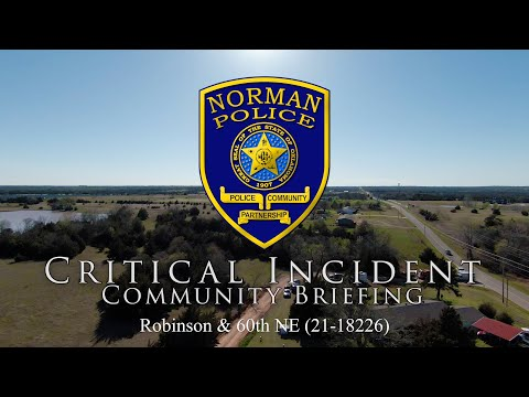 Critical Incident Community Briefing: Shooting Near 58th Ave NE & Robinson