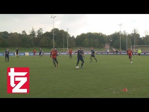 Unfassbar: Hier wird Franck Ribéry vernascht - FC Bayern vs. Paulaner Fanauswahl