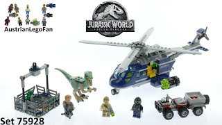 Lego Jurassic World 75928 Blue´s Helicopter Pursuit - Lego Speed Build Review