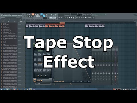 How to Make a Tape Stop Effect in FL Studio