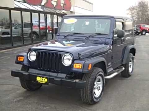 2006 Jeep Wrangler Right Hand Drive Postal Jeep