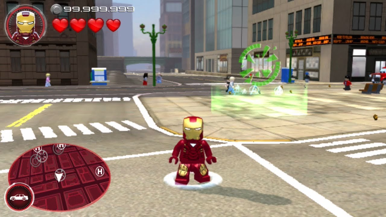 Lego Marvel S Avengers Ps Vita 3ds Mobile Iron Man Mk6 Gameplay Youtube