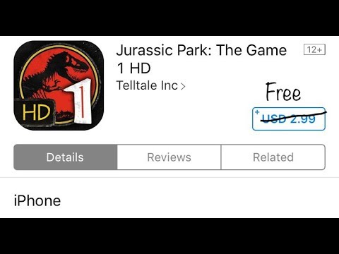 Download Jurassic Park:the Game 1 HD(taletell) Game Free For Iphone By Iphone Tips And Tricks