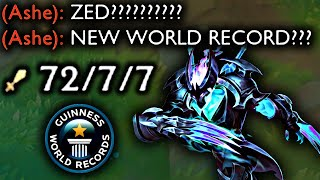 ZED 72 KILLS (WORLD RECORD)