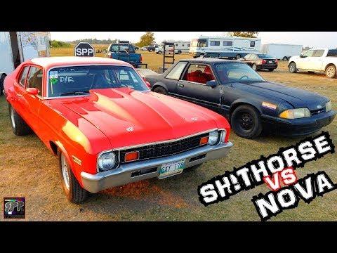 JUNKYARD 5.3 LS TURBO CARS DRAG RACING 1/8 MILE   SPP No Prep Shootout w/The Shithorse + BossaNova