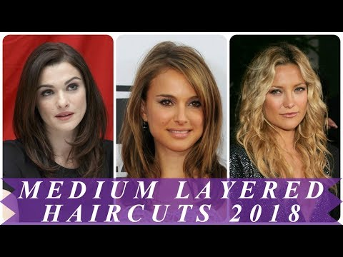 Layered hairstyles for medium length hair 2018 for women