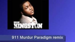 Sean Kingston 911 Fire On The Dancefloor (md paradigm electro house remix radio edit)
