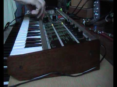 My very faulty microKorg : ( EDIT now fixed!
