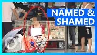 Shoplifting …