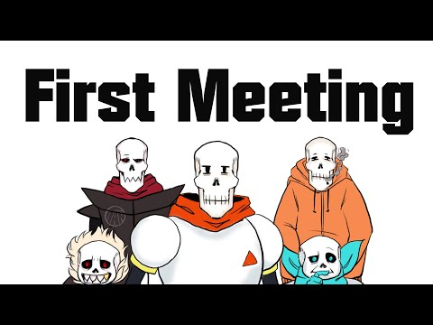 First Meeting - Undertale Multiverse Comic Dub