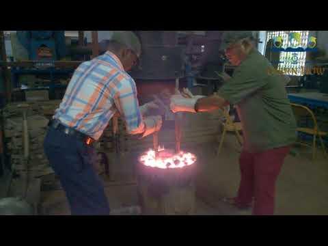 Aluminium Sand casting Full live demo
