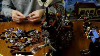 Lego 70810 Metalbeard's Sea Cow Time-lapse Build