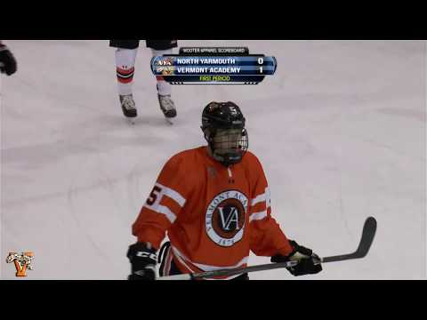 2018 Ice Hockey: North Yarmouth at Vermont Academy