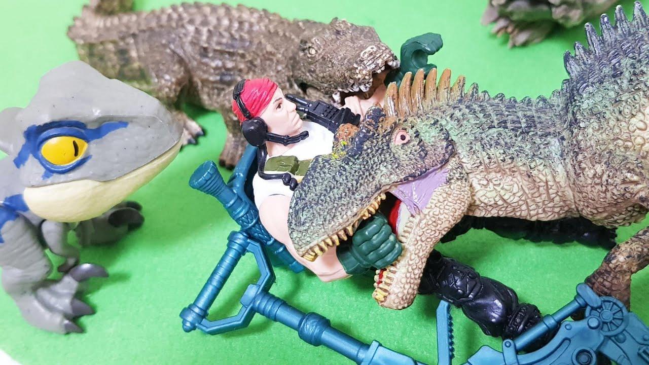 공룡사냥꾼들의 공룡사냥을 시작하는데... 하나, 둘 쓰러지는 공룡들.. 과연 공룡들은 어떻게 되는걸까?
