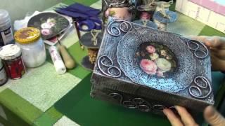 видео Коробочки - органайзеры для работы с камнями