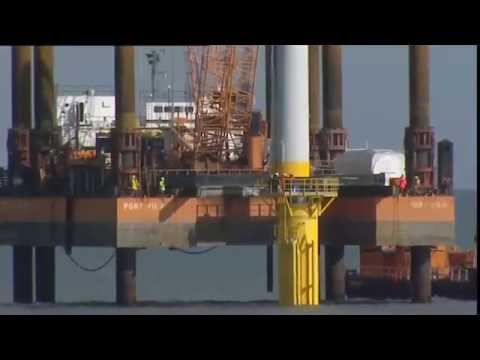 Offshore Wind: Constructing the UK's first Offshore Wind Turbines