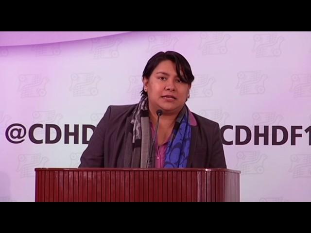 Discurso Dra. Perla Gómez en III Congreso Latinoamericano de Defensorías de las Audiencias