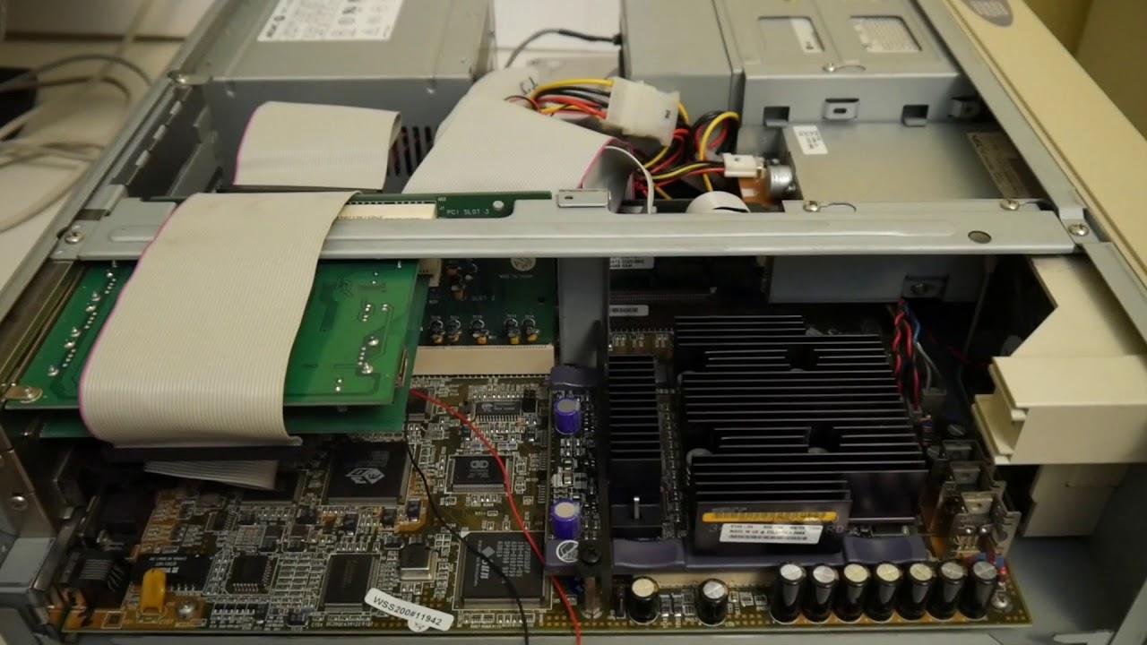 Sun Ultra 5 w/ 64-bit UltraSPARC T2 Linux: look inside & nvram fix