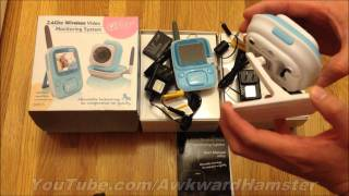 Infant Optics Video Baby Monitor Unboxing & Review (HD)
