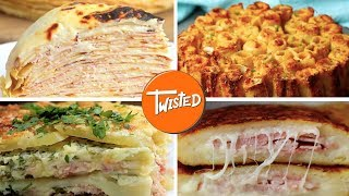 12 Delicious Ham And Cheese Recipes | Ham And Cheese French Toast | Twisted