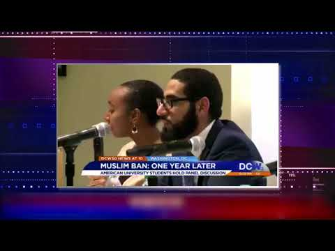 Video: CAIR Civil Rights Attorney Joins American University Panel on Trump's Muslim Ban
