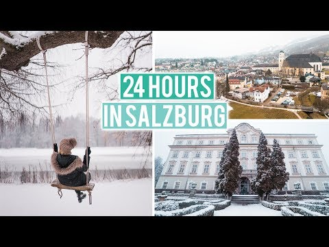 Living in a Palace in Salzburg, Austria | Sound of Music Tour Winter