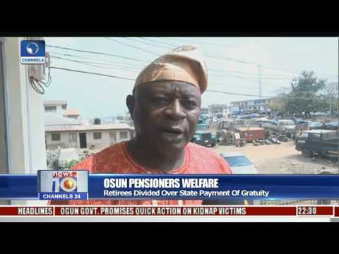 Osun Pensioners: Retirees Divided Over State Payment Of Gratuity