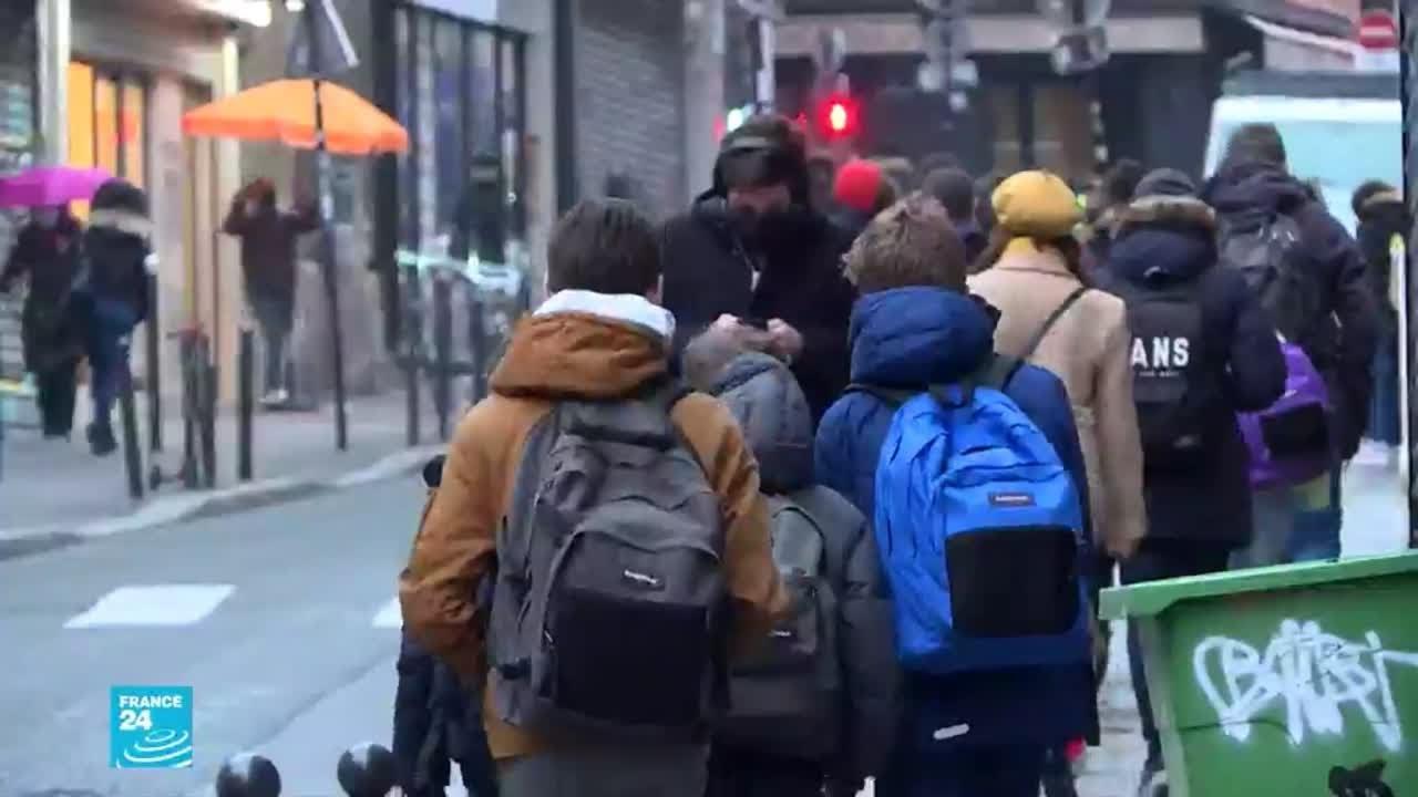فرنسا.. تحاليل طبية لنحو مليون تلميذ شهريا للكشف عن فيروس كورونا  - 18:00-2021 / 1 / 15