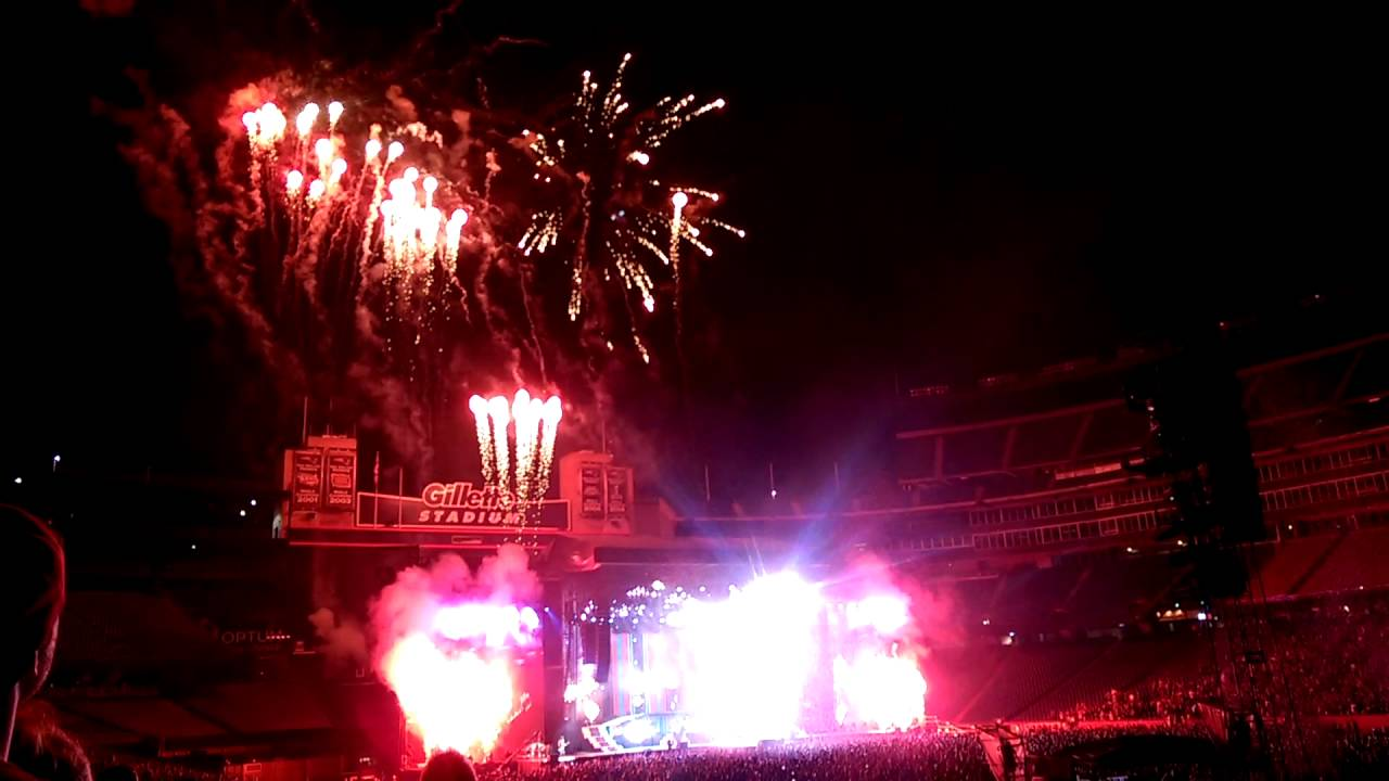 Image result for guns n roses foxboro fireworks