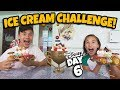 ICE CREAM CHALLENGE on A CRUISE SHIP!! Giant Wreck-It Ralph Sundae at Disney's Private Island! DAY 6