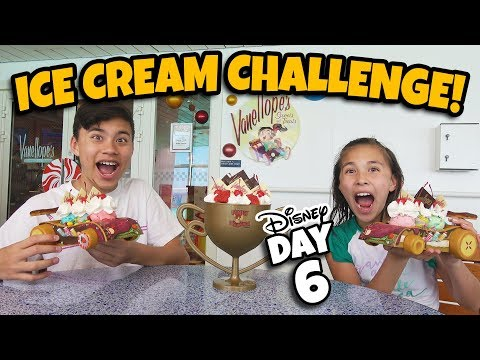 ICE CREAM CHALLENGE on A CRUISE SHIP Giant Wreck-It Ralph Sundae at Disney&39;s Private Island DAY 6