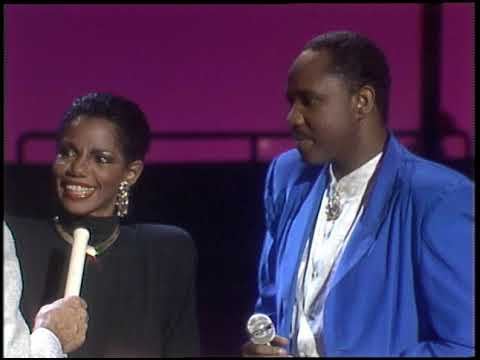 American Bandstand 1986- Interview Melba Moore and Freddie Jackson