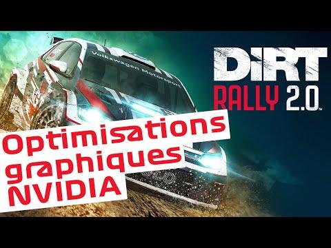 Dirt Rally 2.0 - Paramètres NVIDIA