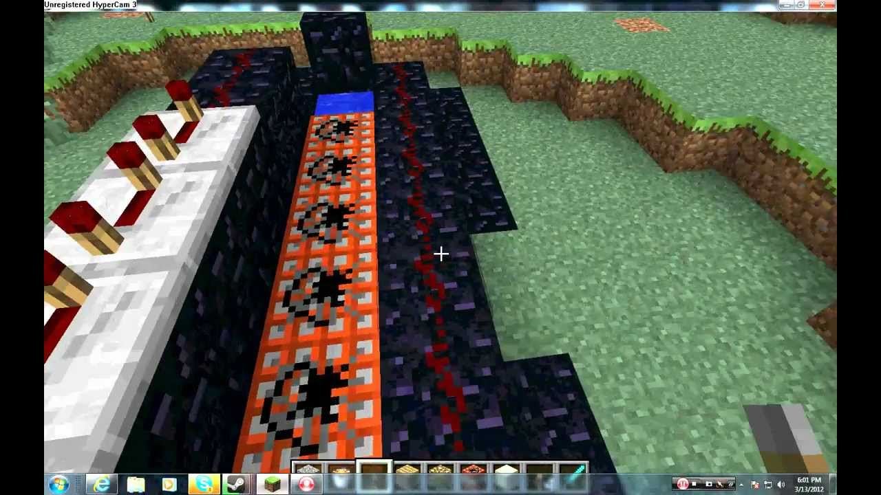 Minecraft How To Make A TNT Cannon And SandGravel Cannon YouTube - Minecraft hauser xbox 360