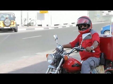 Bijoy Das, A Courier Boy