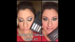 tutorial review younique palette 2 smokey eye