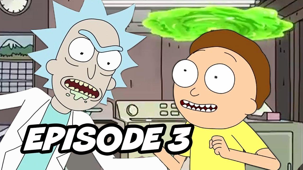 Rick And Morty Season 4 Episode 3 Opening Scene Breakdown