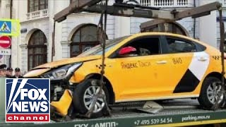 Security heightened at World Cup after taxi hits crowd