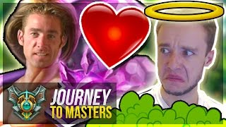 JUNGLE IS TOO EASY?? - I GET HIT ON IN-GAME WTF?? | Journey To Masters #28 S7 - League of Legends