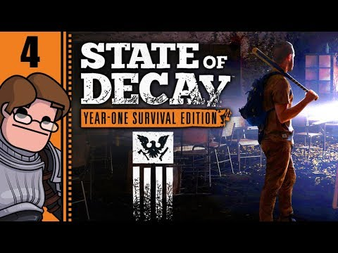Let's Play State of Decay: Year One Survival Edition Part 4 - Medicine Run: NO CARS!