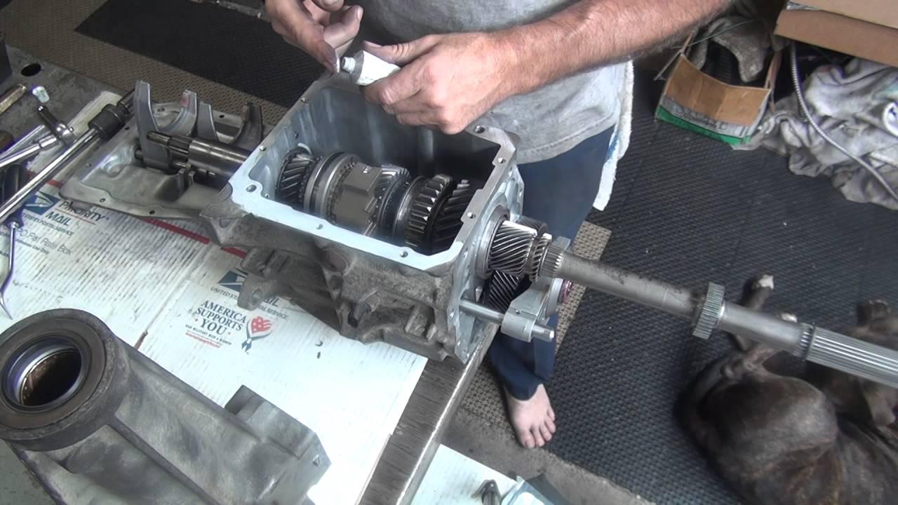 115 198295 Chevy T5 NWC Tremec    transmission    rebuild B Warner nonworldclass T5 5 speed