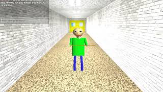 MY OWN GAME OF BALDI!!! -Baldi's Basics 3D Morph RP-Roblox