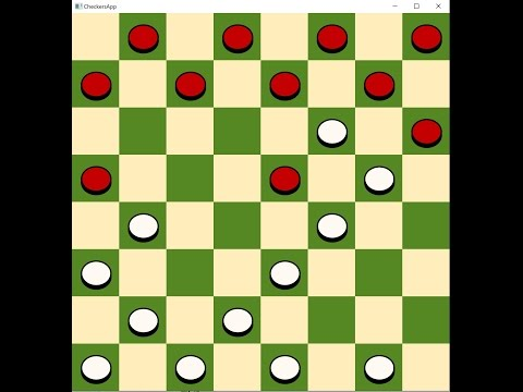 JavaFX Game: Checkers