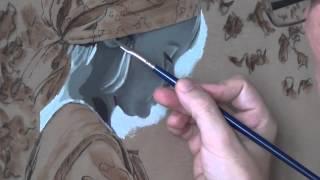 "painting the portrait ""yellow apple"", part 2.1"